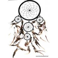 dream catcher czarny